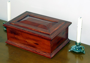 Traditional Style Keeper box with molding