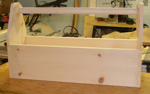 Toolbox with Dovetail corners